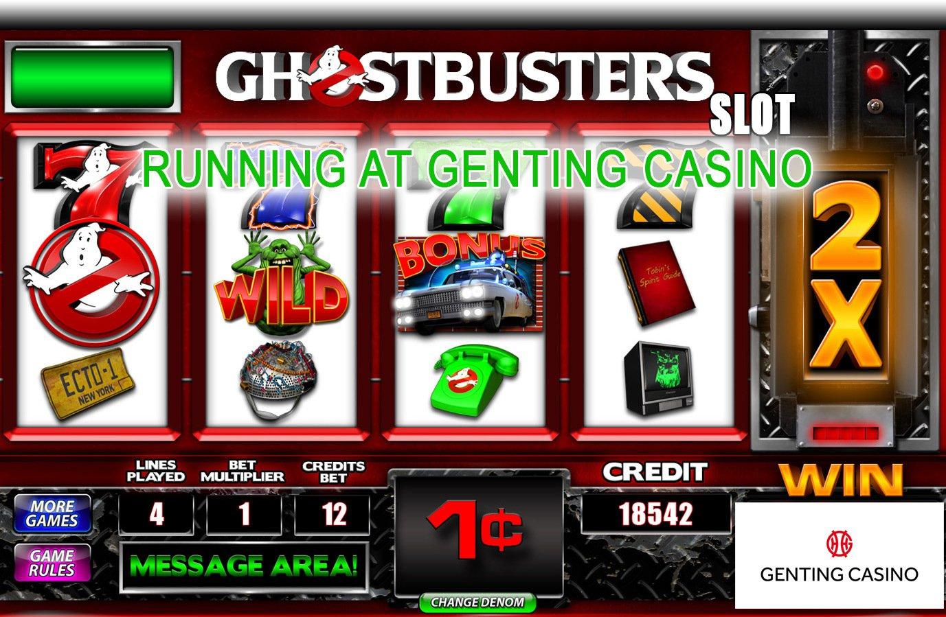 Ghostbuster Slots