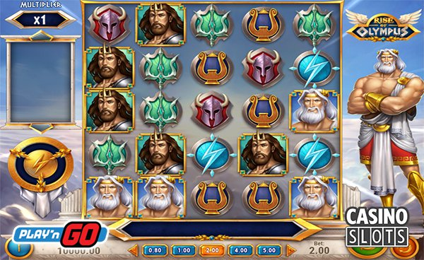 The New Rise Of Olympus Slot Arrives At PlayN Go Casinos