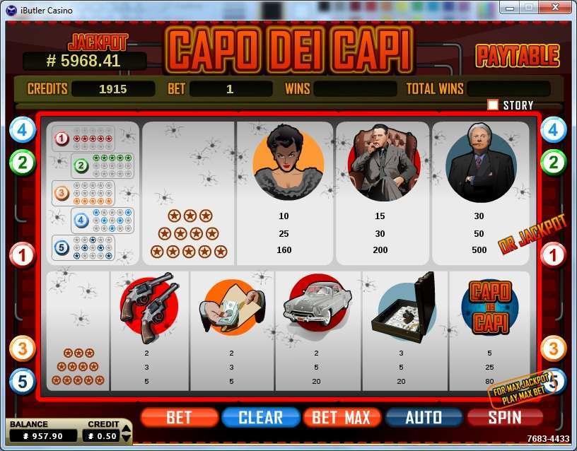 Capo Dei Capi Slot Machine