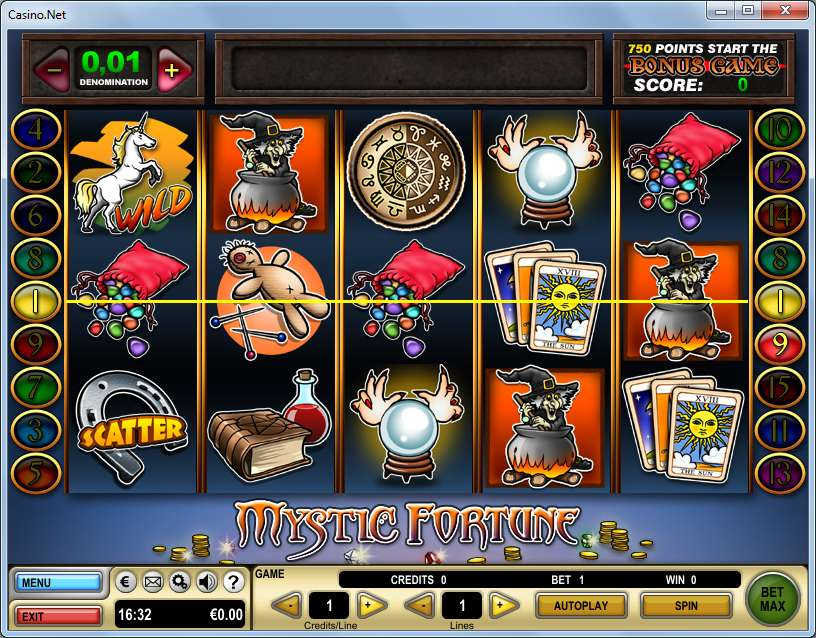 Mystical fortunes slot machine online
